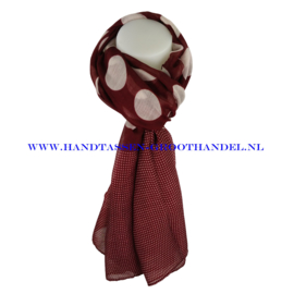 N5 sjaal ENEC-821 jujube red (rood)