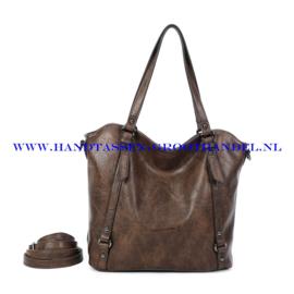 N117 Handtas Ines Delaure 1682863 marron (bruin)