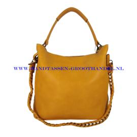 N36 Handtas Eleganci 8262-3 geel (oker)