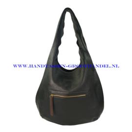 N38 Handtas Flora & Co 9905 zwart