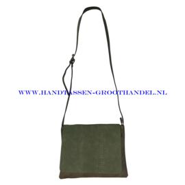 N18 Handtas Flora & Co 7983 kaki (groen)
