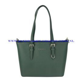 N73 Handtas Flora & Co 9179 groen