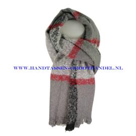 N14 sjaal ENEC-919 grijs