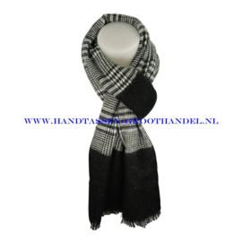 N14 sjaal ENEC-906 zwart