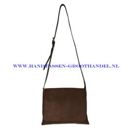 N91 Handtas Flora & Co 7965 chocolat (bruin)