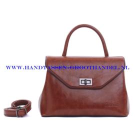 N103 Handtas Qischa 1681457a chocolat (bruin)
