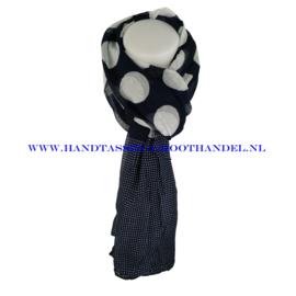 N5 sjaal ENEC-821 navy (blauw)