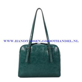 N112 Handtas Ines Delaure 1682782 emeraude (groen - blauw)