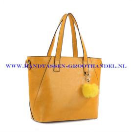 N72 Handtas Ines Delaure 1681748 geel