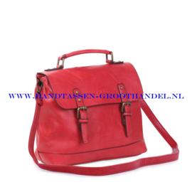 N38 Handtas Ines Delaure 1681652 rood