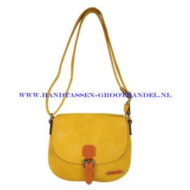 N27 Handtas Flora & Co 6753 moutarde (geel)