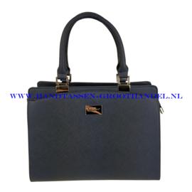 N40 Handtas Flora & Co 6346 blauw
