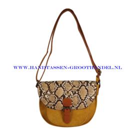 N32 Handtas Flora & Co 6779 moutarde (geel)