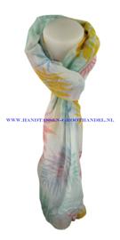 N5 sjaal enec-1040 blauw