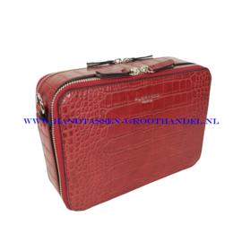 N36 Handtas Flora & Co x8032 rood