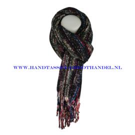 N101 sjaal ENEC-843 zwart