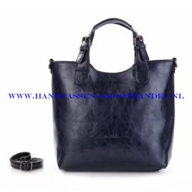 N72 Handtas Ines Delaure 168168 nuit (donker blauw)