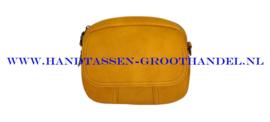 N33 Handtas Flora & Co 8034 moutarde (mosterd - geel)