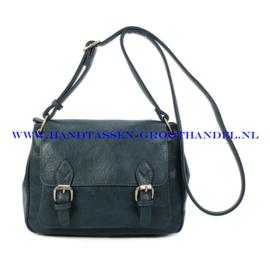 N103 Handtas Ines Delaure 1682760 petrole (blauw - groen)