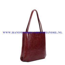 N112 Handtas Ines Delaure 1682213 marsala (rood)