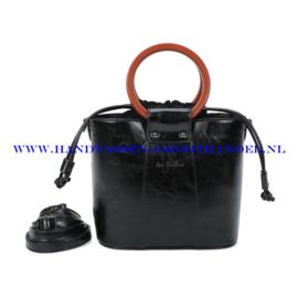 N107 Handtas Ines Delaure 1682507 zwart