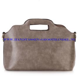 N35 Handtas Ines Delaure 168018 souris (grijs)