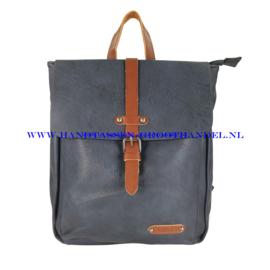 N36 Handtas Flora & Co 6730 blauw