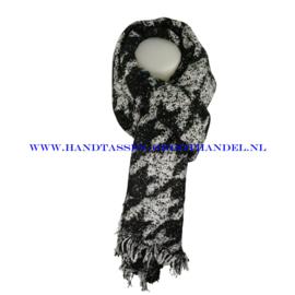 N15 sjaal ENEC-915 zwart