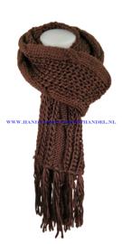 N12 sjaal 1016 bruin