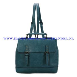 N38 Handtas Ines Delaure 1681652 bleu paon (blauw)