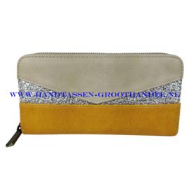 N18 portemonnee Mandoline 198 geel