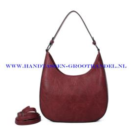 N117 Handtas Ines Delaure 1682789 bordeaux