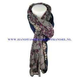 N7 sjaal 1010 blauw
