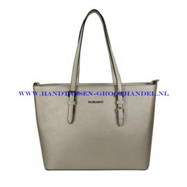 N39 Handtas Flora & Co F9126 zilver