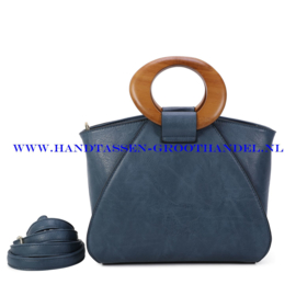 N107 Handtas Ines Delaure 1682209m bleu horizon (blauw)