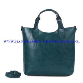N72 Handtas Ines Delaure 168168 emeraude (groen)