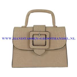 N32 Handtas Flora & Co 8019 beige