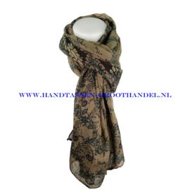 N7 sjaal 1010 bruin