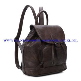 N34 Handtas-rugzak Ines Delaure 168485 marron (bruin)