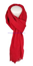 N7 sjaal 19215 rood