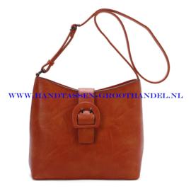 N72 Handtas Ines Delaure 1682546 fauve (oranje - bruin)