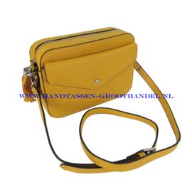N23 Handtas Flora & Co 6545 moutarde (mosterd - geel)