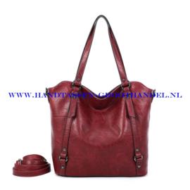 N117 Handtas Ines Delaure 1682863 bordeaux