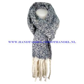 N60 sjaal 1857 blauw