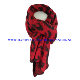 N15 sjaal ENEC-885 rood