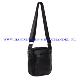 N34 Men bag Blue Smith 128012 zwart