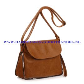 N35 Handtas Ines Delaure 1681826 moutarde (mosterd - camel)