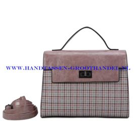 N39 Handtas Ines Delaure 1682239a blush (roze)