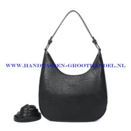 N117 Handtas Ines Delaure 1682789 zwart