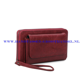 N21 portemonnee Ines Delaure E019 bordeaux